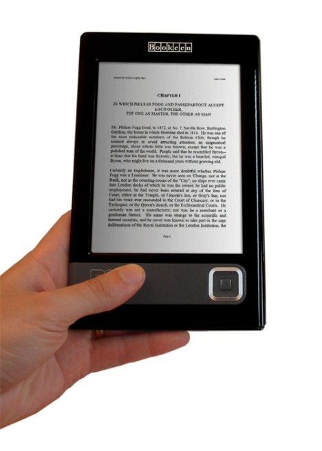 Cybook-in-hand